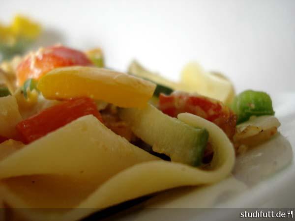 Gemüse-Nudeln