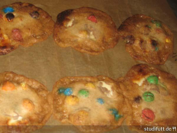 Kekse Backen Mit Kinderschokolade Und M Ms Studentenwiese